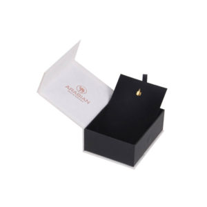 Luxury Paper Rigid Cardboard Gift Set Jewelry Packaging Box for Bracelet Ring Earrings Necklace with Foam Insert