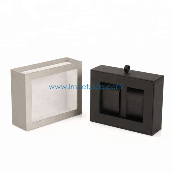 Custom Luxury Fancy Paper Rigid Gift Watch Packaging Box