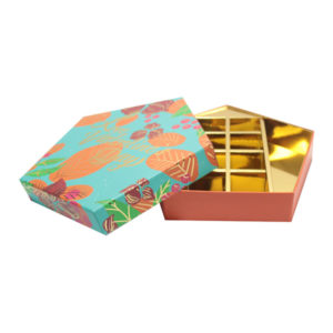 Creative Food Grade Paper Cardboard Chocolate Packaging