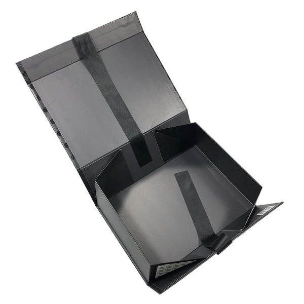 Luxury Foldable Magnetic Closure Gift Box Paper Packaging Magnetic Collapsible Boxes Double Side Tapes