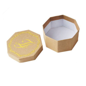 Custom Recycle Paper Rigid Gift Packaging Box with Lid Wholesale