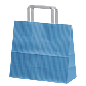 Gift Kraft Paper Shopping Bag with Flat handle