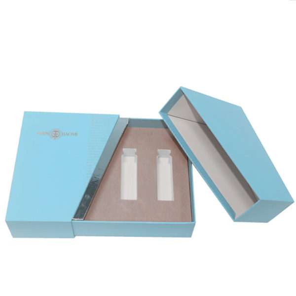 Custom Design Creative Slip Case Gift Paper Packaging Box with Inserts