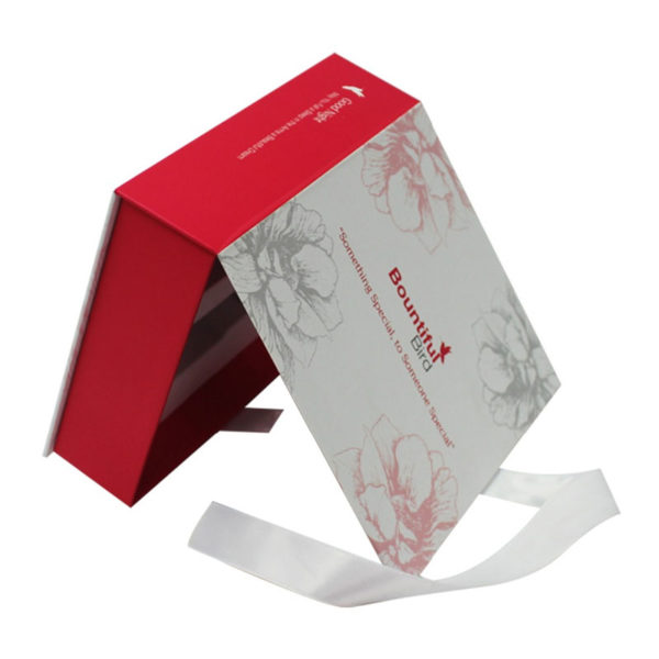 Color Printed Folding Cosmetic Perfume Paper Packaging, Essential Oil Packaging Box with EVA Foam
