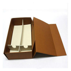 Custom Rigid Cardboard Adhesive Tape Collapsible Paper Gift Box Packaging