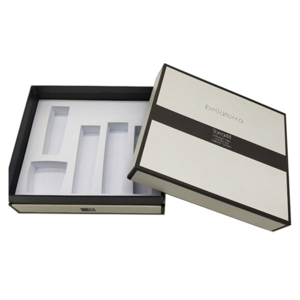 Wholesale Cheap Printed Rigid Cardboard Gift Cosmetic Paper Packaging Box with EVA Insert