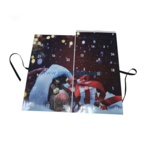 Top Quality Wholesale Advent Calendar Chocolate Gift Box for Christmas Packaging