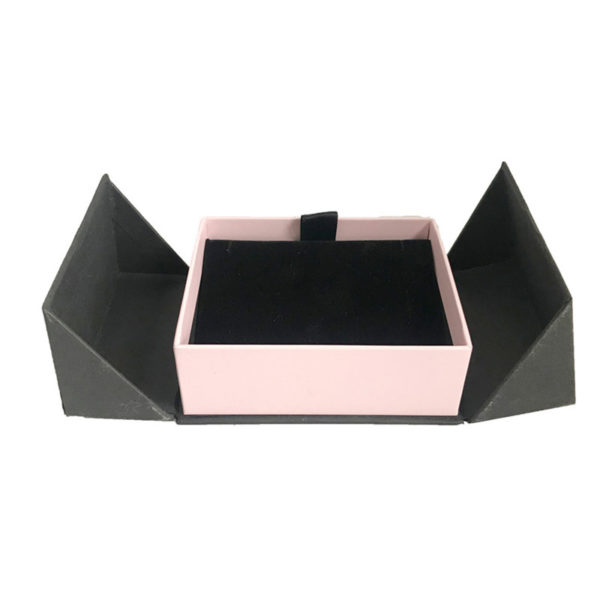 Rigid Color Printing Jewelry Paper Box Gift Paper Packaging Box with Velet Insert