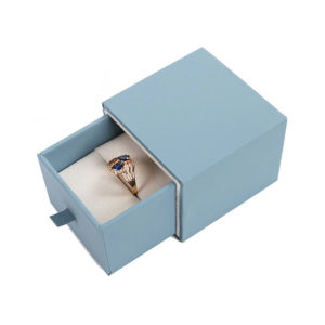 Printed Luxury Rigid Paper Gift Jewelry Packaging Drawer Box